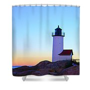 Annisquam Dawn Shower Curtain