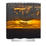 Another Caribbean Sunset Shower Curtain