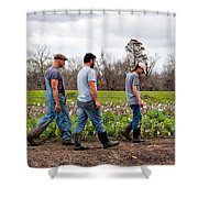 Another Cotton Pickin' Day Shower Curtain