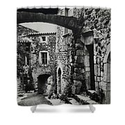 Another Residence In Childhood Alba France Ardeche Shower Curtain