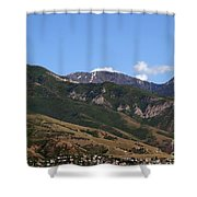 Another View Of Salt Lake City Shower Curtain