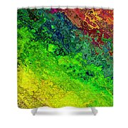 Another Waterway Shower Curtain