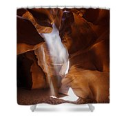 Antelope Canyon Light Shower Curtain