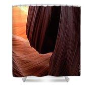 Antelope Canyon Living Rock Shower Curtain