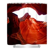 Antelope Canyon Skylight Shower Curtain