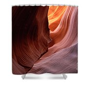Antelope Canyon Written In Stone Shower Curtain
