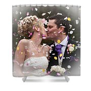 Anthony And Claire Shower Curtain