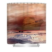 Anthony Boy's Magical Voyage Shower Curtain