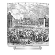 Anti-german Riot, 1851 Shower Curtain
