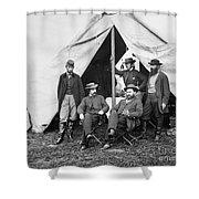 Antietam: Officials, 1862 Shower Curtain