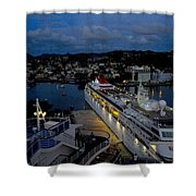 Antigua Dusk Shower Curtain