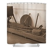 Antiquated Plantation Tools - 1 Shower Curtain