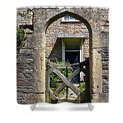 Antique Brick Archway Shower Curtain