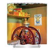 Antique Coffee Mill Shower Curtain