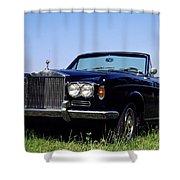Antique Rolls Royce Shower Curtain
