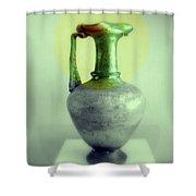 Antique Vases Still Life Altered IIi Shower Curtain