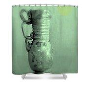 Antique Vases Still Life Altered Iv Shower Curtain