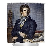 Antonio Canova (1757-1822) Shower Curtain