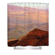 Anza-borrego Desert Foothills Shower Curtain