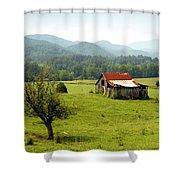 Apalachia Shower Curtain