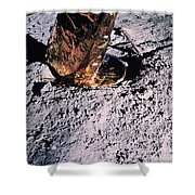 Apollo 14 Foot Pad Shower Curtain