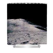 Apollo 15 Lunar Landscape Shower Curtain