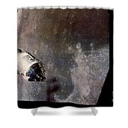 Apollo Command And Service Model Shower Curtain