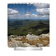 Appalachian Trail View Shower Curtain