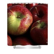 Apples For Sale Shower Curtain
