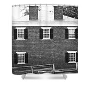 Appomattox Courthouse Shower Curtain by Teresa Mucha