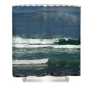 Approaching Storm In Maui Shower Curtain