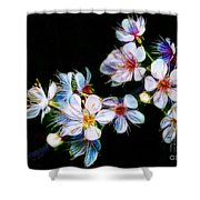 April All Aglow Shower Curtain