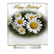 April Birthday Shower Curtain