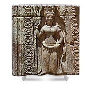 Apsara Shower Curtain