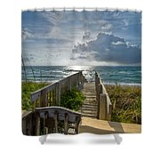 Aqua Seas Shower Curtain