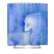 Aquarius 2 Shower Curtain