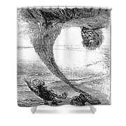 Arabian Nights, 1903 Shower Curtain by Granger