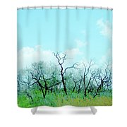 Aransas Nwr Texas Shower Curtain