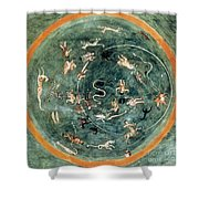 Aratuss Constellations Shower Curtain by Science Source