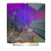 Arbor Dreaming Shower Curtain