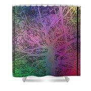 Arboreal Mist 1 Shower Curtain