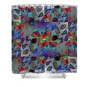 Arboretum Colorful Shower Curtain