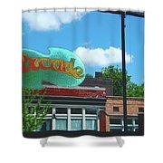Arcade Restaurant Memphis Shower Curtain