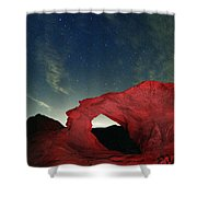 Arch And Stars Shower Curtain