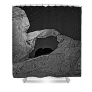 Arch In Valley Of Fire Nevada Shower Curtain