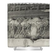 Arch Of Titus, Rome, Italy Shower Curtain