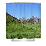 Archangel Valley Shower Curtain