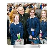 Archbishop Alex Brunett Shower Curtain