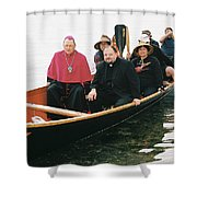 Archbishop Arrives One Shower Curtain