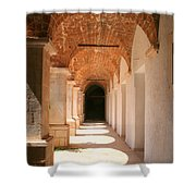 Arches And Shadows Shower Curtain